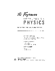 Feynman Physics Lectures V1 Ch01 1961-09-26 Atoms In Motion.