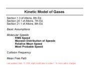 Kinetic Model of Gases-Ch1