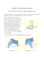 3-3D Coordinate Systems