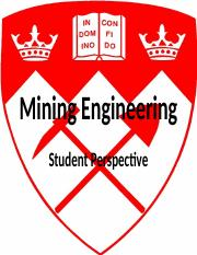 Mining Engineering student perspective