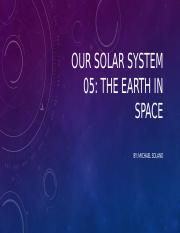 Our Solar System 05