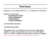 Real gases-Ch1