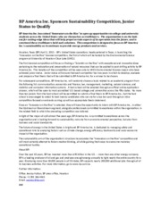 1 Pages Press Release   CSR