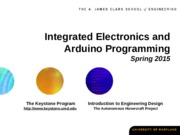 SP2015 - integrated electronics arduino slides_Evandro