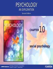 EXPLORATION AN PSYCHOLOGY