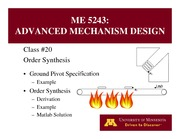 Lecture 20 on Advanced Mechanism Design