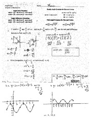 Law of Cosines Practice