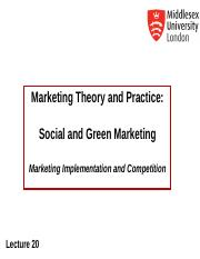 MKT1120 Lecture 20 Marketing Ethics and CSR.ppt