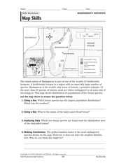 In The Space Provided Write The Letter Of The Term Or Phrase That Best - Skills worksheet map skills us crops answers