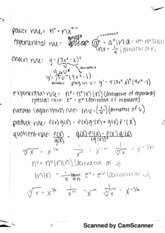 derivative need to knows