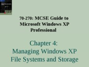 Windows Xp Professional Chapter 04