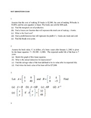 CUNY JJAY Social Science Mathematics Midterm Exam