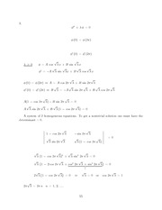 Differential Equations Lecture Work Solutions 55
