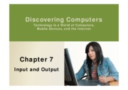 Chapter 07-Input and Output
