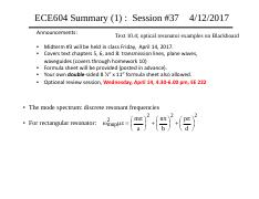 Sessions 37 with optical resonator figures 4-12-17