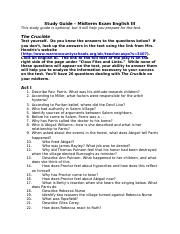 crucible test english iii midterm exam study guide.docx