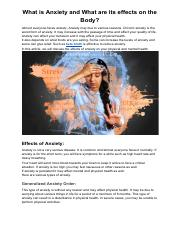 What is Anxiety and What are its effects on the Body.pdf