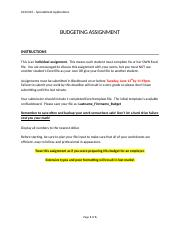 17S Assignment Instructions