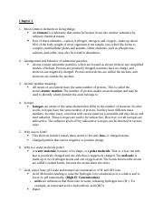 Test 2 Bio study guide  (Autosaved)
