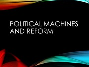 LECTURE Political Machines