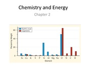Ch 2 Chemistry and Energy