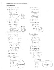inequality functions notes