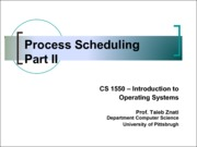 2013-10-22 Process Scheduling 2