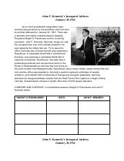 John F. Kennedy's Inaugural Address  Activity.pdf