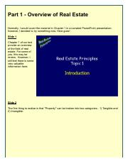 Part 1 - Overview of Real Estate.pdf