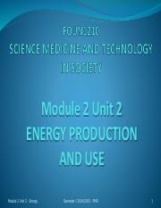 Lecture_-_Module_2_Unit_2_Energy_Production_and_Use_-_Semester_1_2014_-_2015