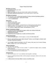Exam II Study Guide (S12)