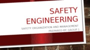 Introduction to safety engineering
