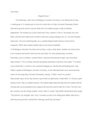MediaWritingOriginalStory2Assignment