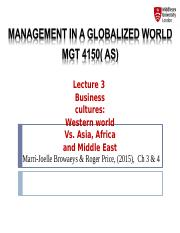 Lecture 3 MGT 4150
