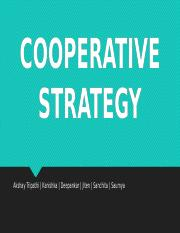 Cooperative Strategy.pptx