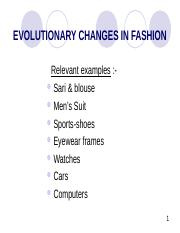 Ses 3-8 evolutionary changes in fashion.ppt