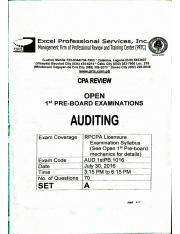 AUDITING PRTC 1ST PB OCT2016