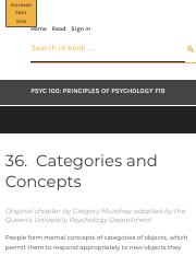 Categories and Concepts – PSYC 100: Principles of Psychology F19.pdf