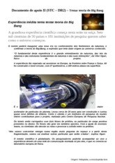 Documento de apoio II - Testar a teoria do Big Bang (3)