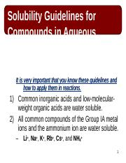 Solubility guidelines.ppt