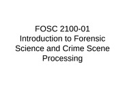 ForensicLectureNotes