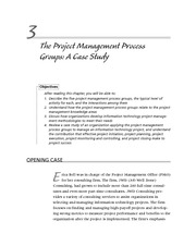 bab 3 the project management process groups a case study
