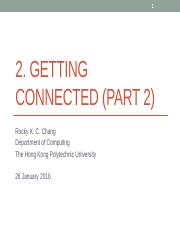 2. Getting connected-2.pptx