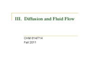 03 Diffusion and Fluid Flow