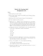 math 152 assig 1