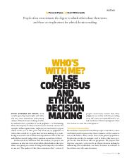 who_s with me false consensus _ ethical decision making.pdf