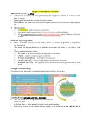 Chapter 5 Atmospheric circulation.docx