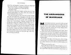 Adichie - The Arrangers of Marriage