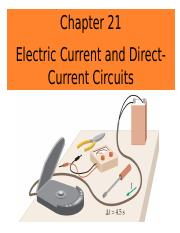 Chapter 21_Electric current and DC circuits_PUNEET