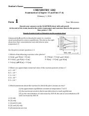 CH1422 SP16 Exam 1 wanswers.pdf
